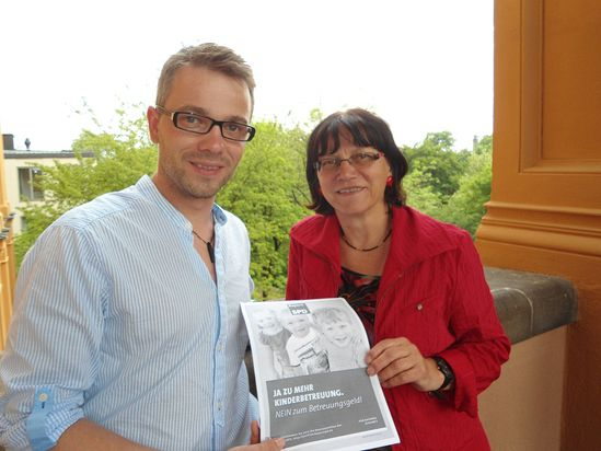 Josef Kollmannsberger und MdL Johanna Werner-Muggendorfer