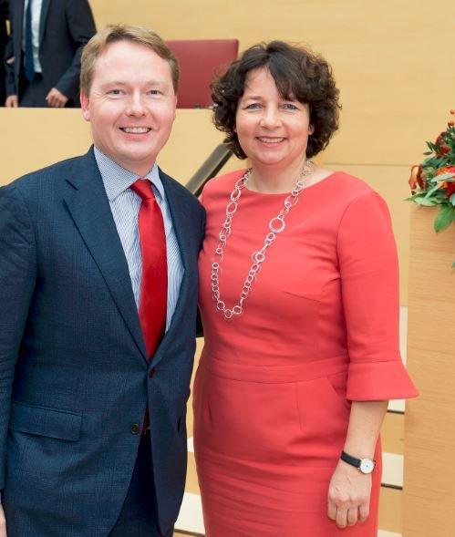Christian Flisek und Ruth Müller