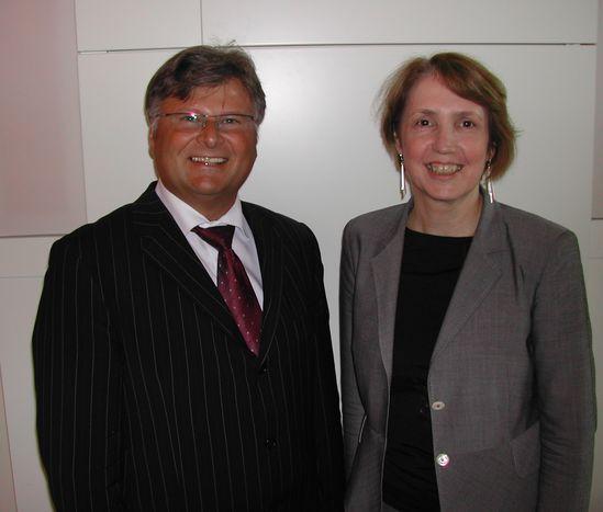 stv. Fraktionsvorsitzender und Bgm. Franz Göbl mit MdL Annette Karl
