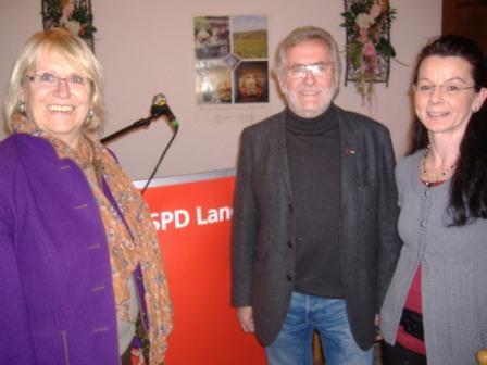 MdB Angelika Graf, Rolf Haucke, Anja König