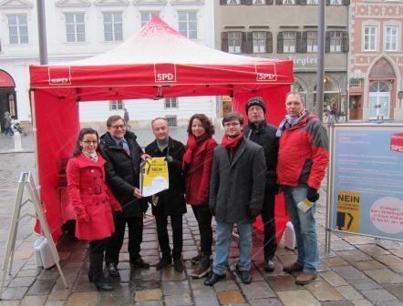 Anja König, Gerd Steinberger, Harald Unfried, Ruth Müller, Valerian Thielicke, Peter Schmid, Herbert Lohmeyer