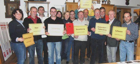 Die SPD-Ortsvereine des SPD-AK Labertal freuen sich über ein aktives Jahr, das mit dem Wilhelm-Dröscher-Preis gekrönt wu