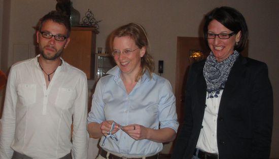 die beiden stellvertretenden Kreisvorsitzenden Josef Kollmannsberger und Kerstin Schanzer mit MdL Natascha Kohnen