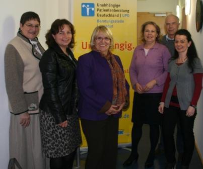 Christel Engelhard, Ruth Müller, MdB Angelika Graf, Monika Erhard-Eckl, Dr. Klaus Blumberg, Anja König