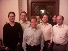 Von links: Florian Emberger, C. Glas, Marco Rauschenberger, Lukas Potsch, Daniel könig, Oliver Wetzstein, Tom Saatberger