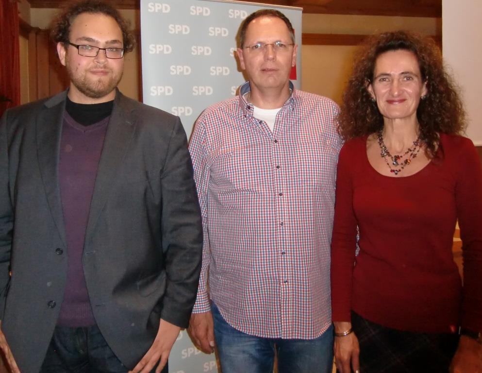 Valentin Kuby, Herbert Lohmeyer und Angelika Thiel (v. l. n. r.)