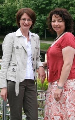 die beiden Kreisvorsitzenden Kerstin Schanzer und Ruth Müller