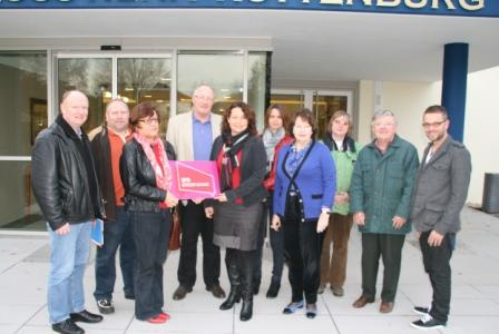 Landkreis-SPD beim Besuch der Schlossklinik