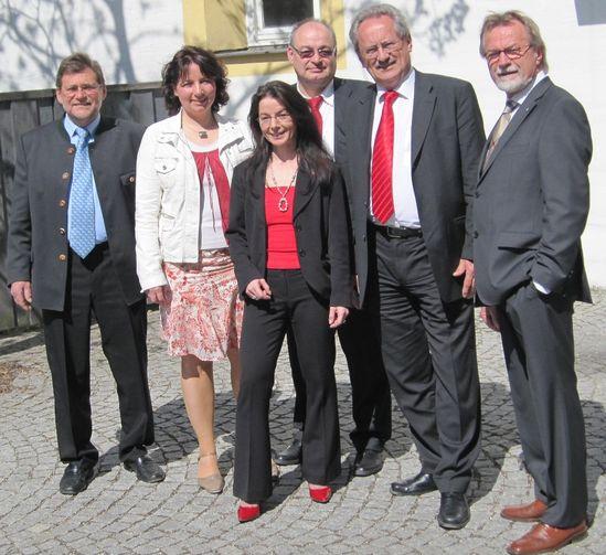 SPD aus Stadt und Landkreis mit Münchens OB Christian Ude