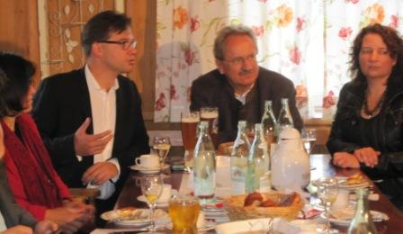 MdL Johanna Werner-Muggendorfer, MdB Florian Pronold, OB Christian Ude, Fraktionsvorsitzende Ruth Müller