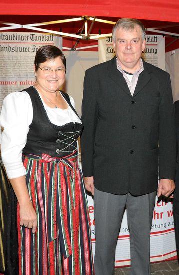 Christel Engelhard und Paul Heckinger