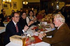 Gut besucht war das traditionelle Fischessen in Ergoldsbach mit SPD-Fraktionschef Markus Rinderspacher.